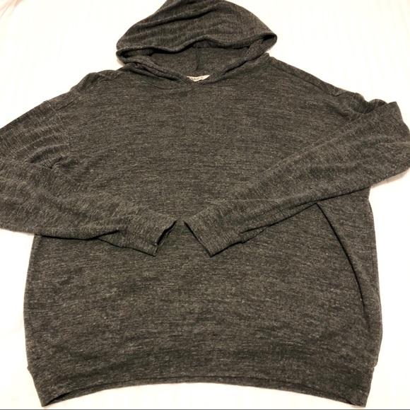 TNA hooded long sleeve shirt